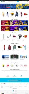UtahSkis eCommerce website design